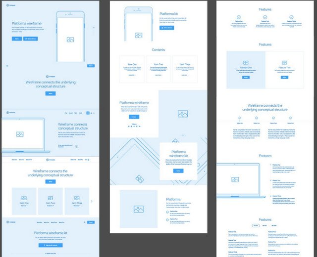 platforma ios screens