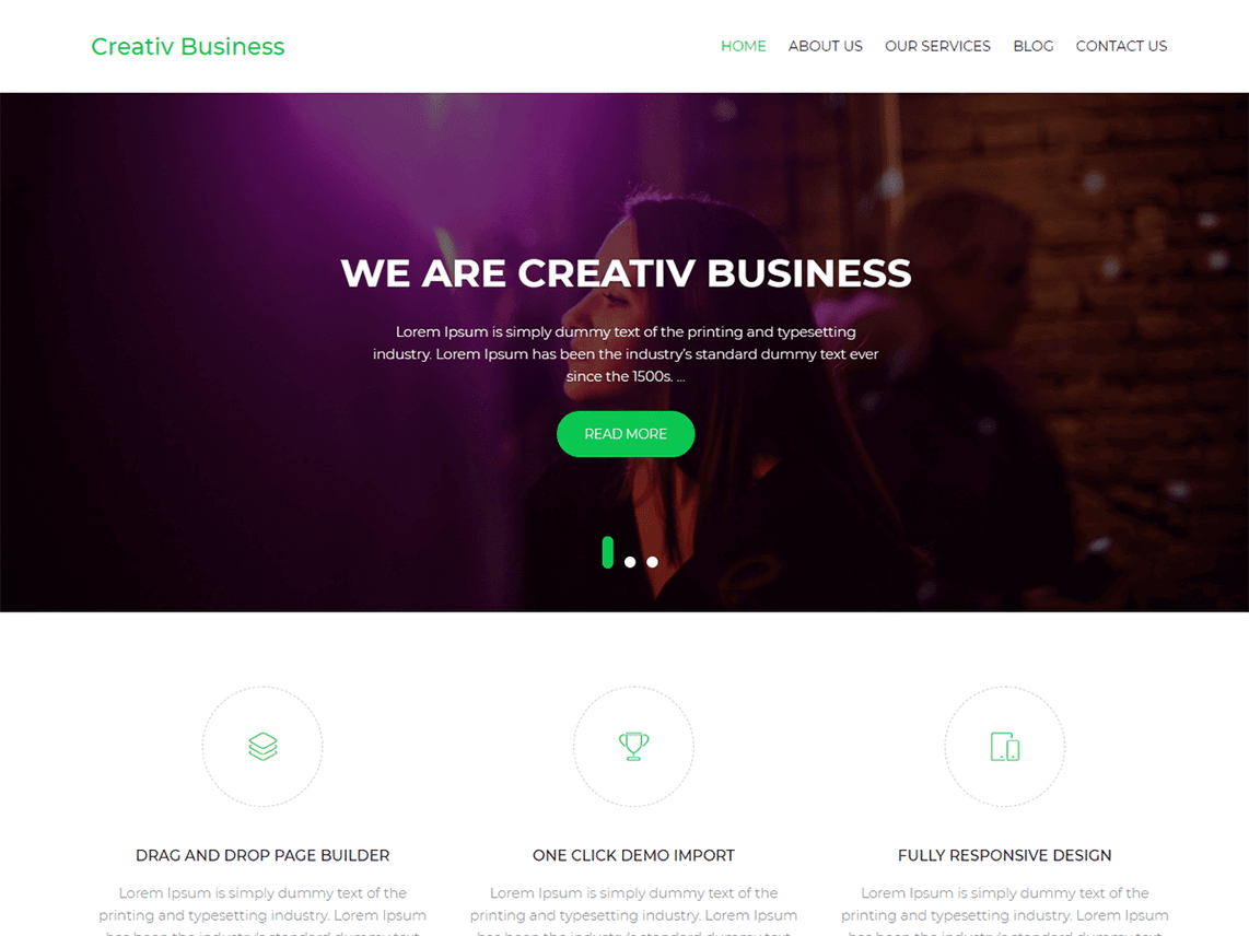 Das Creative Business Theme