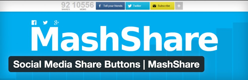 Mashshare Buttons Plugin