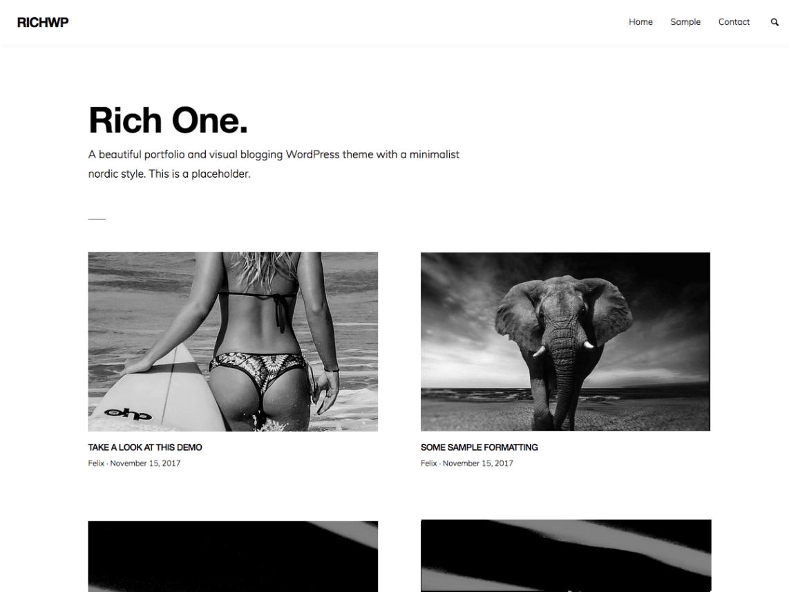 RichOne Theme