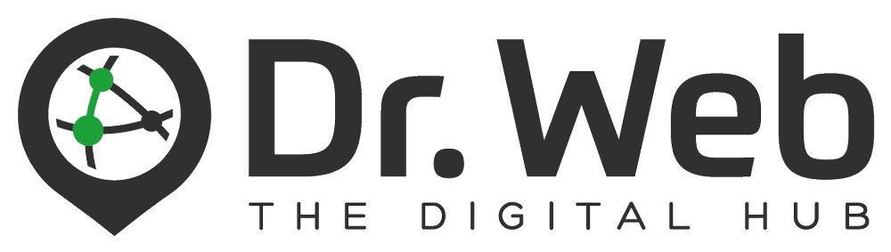Dr. Web - The Digital Hub - Logo
