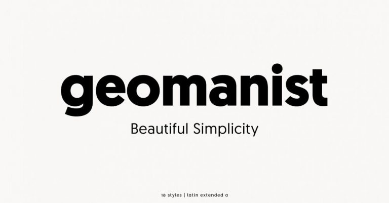 geomanist - Beautiful Simplicity.
