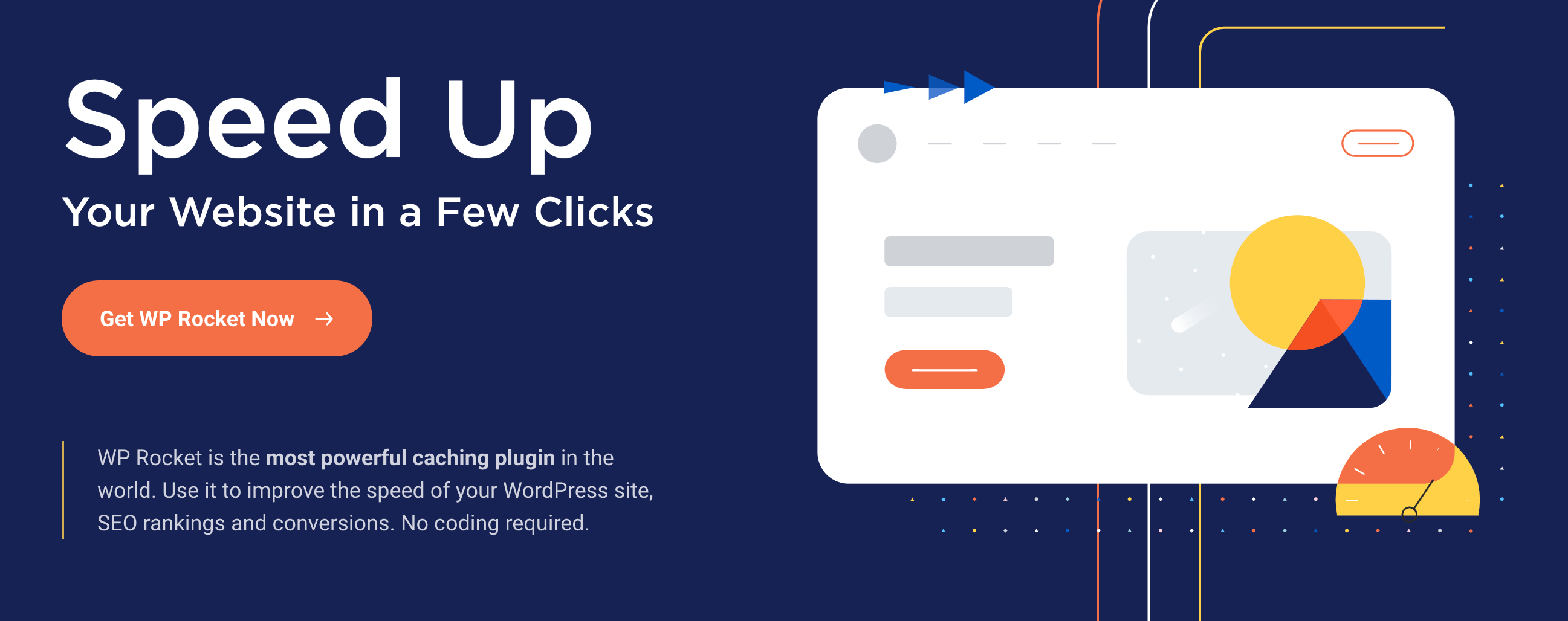 Speed up your website in a few clicks