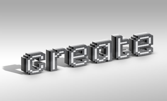 lego-inspired-text-effect