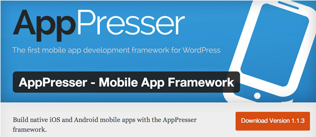Das AppPresser Plugin für WordPress