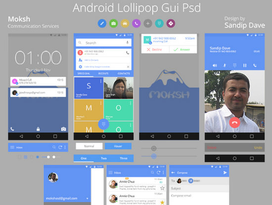 android l gui