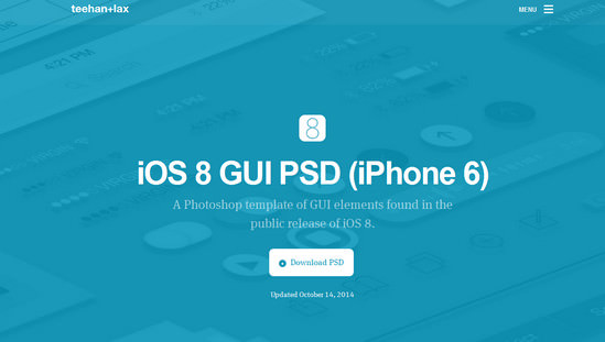 ios8 gui kit
