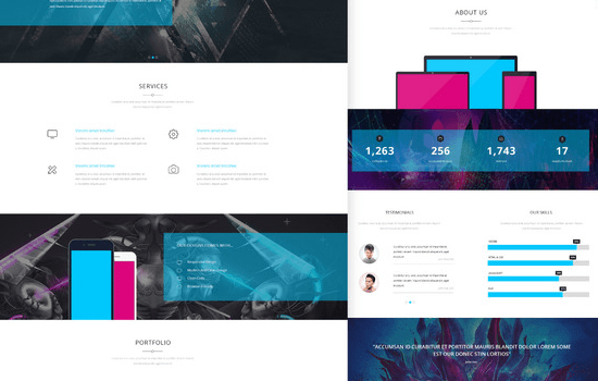 Kasper: One Page Creative HTML Theme