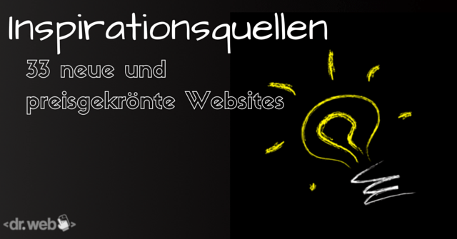 33 neue Websites zur Inspiration