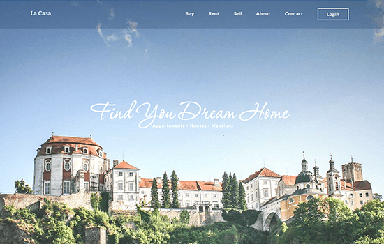La Casa: Beautiful Real Estate Template