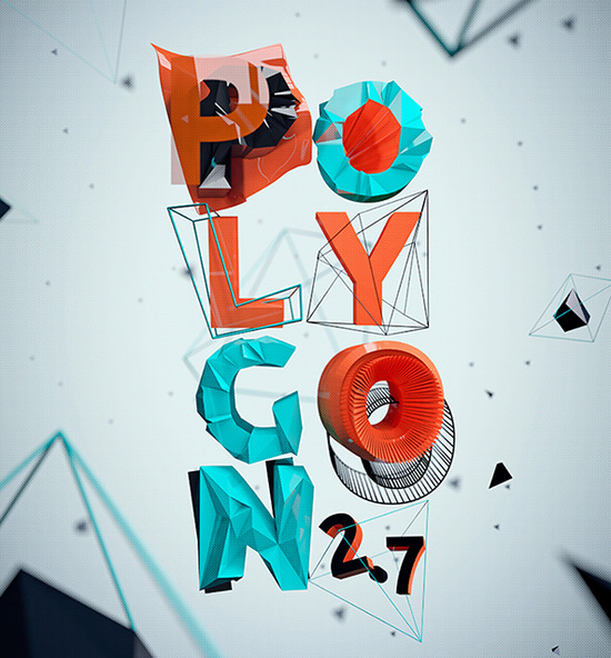 polygon typeface