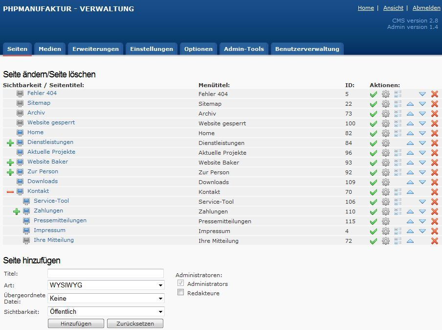 Joomla Content Management System CMS  try it for free!