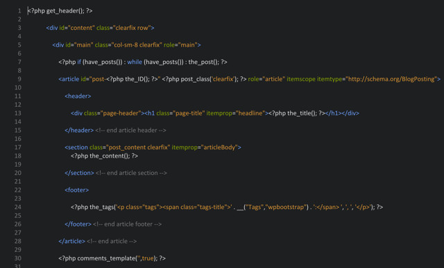 wordpress-bootstrap-page.php